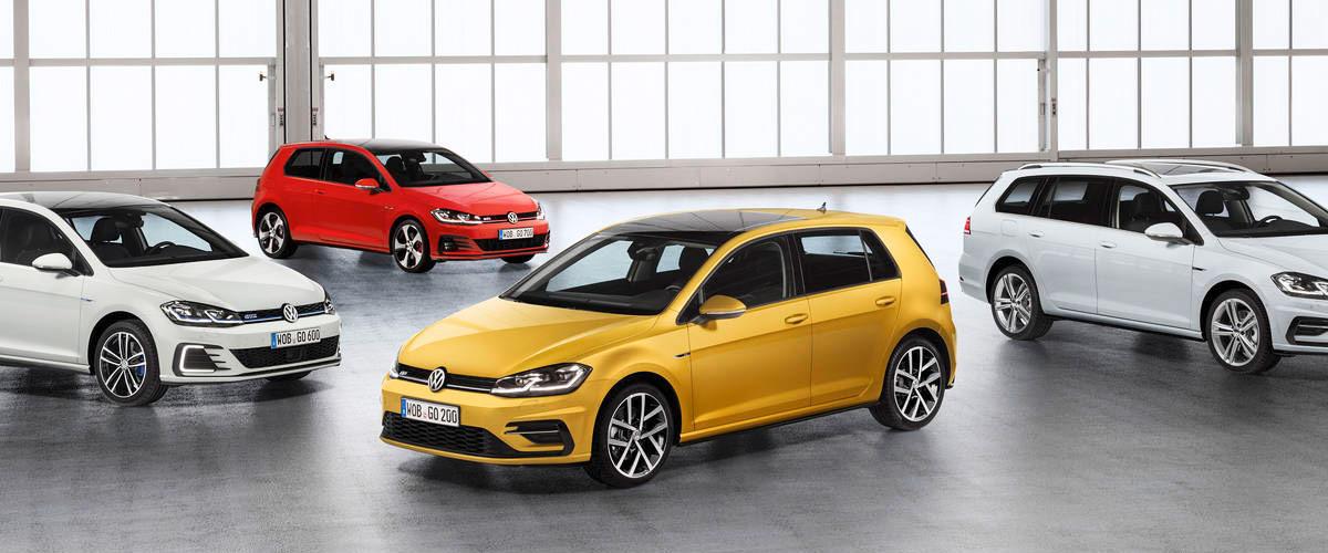 2018 Volkswagen Golf Family Header