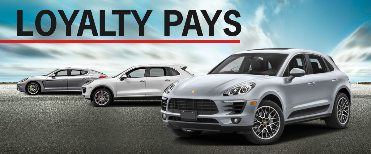 Porsche Lease Loyalty Offer | Porsche Dealer near Los Angeles, CA