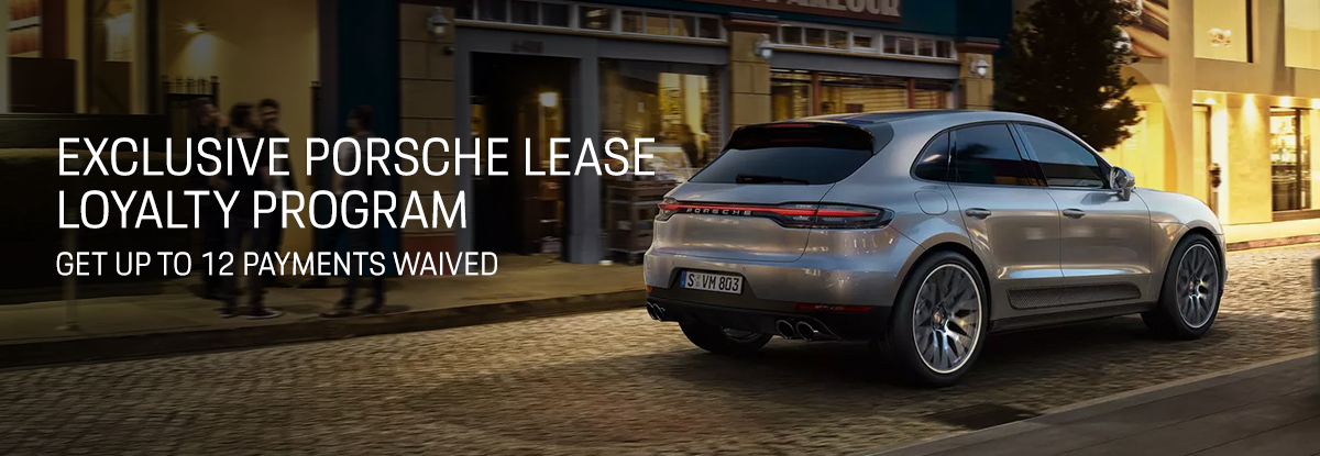 Porsche Lease Loyalty Program