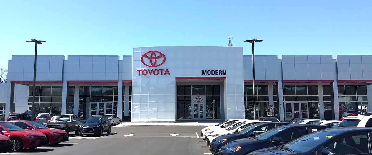 Modern Toyota - 3178 Peters Creek Parkway Winston Salem, NC 27127