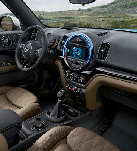 The 2018 MINI Cooper Countryman Interior