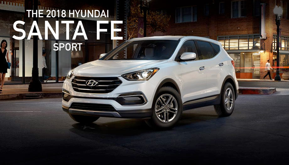 The 2018 Hyundai Santa Fe Sport