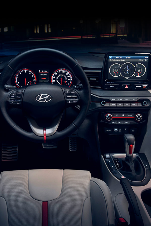 2019 Hyundai Veloster Interior Features