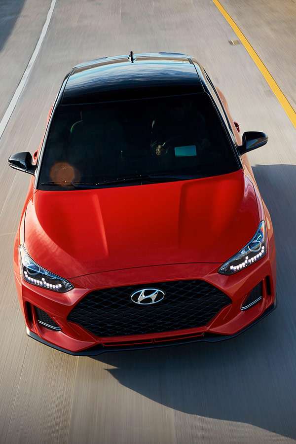 2019 Hyundai Veloster 2019 Hyundai Veloster Safety Features