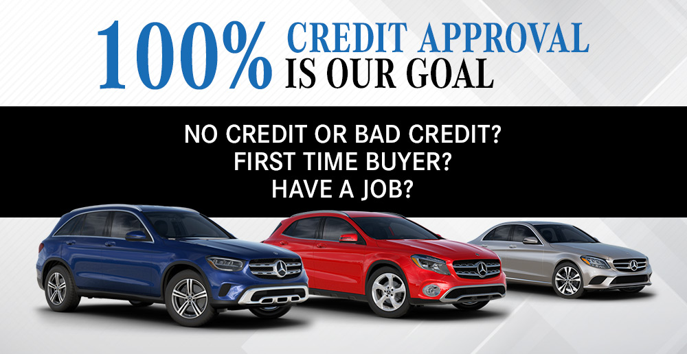 100% Credit Pre-Approval is Our Goal