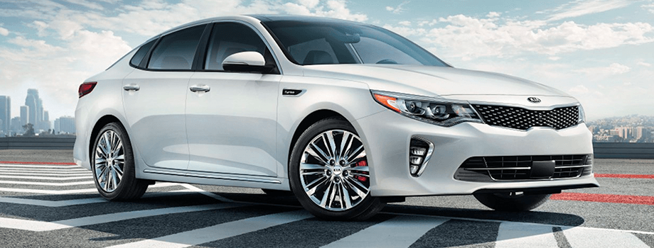 2018 kia optima in white