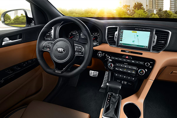 2019 Kia Sportage Interior & Technology