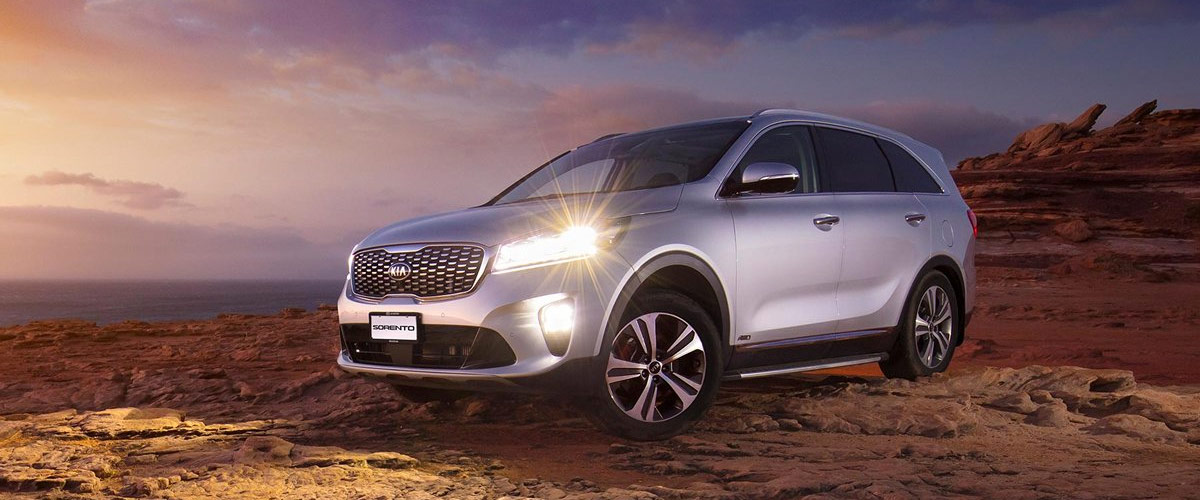 The 2019 Kia Sorento Header