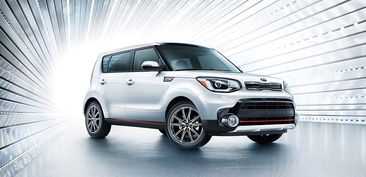 The 2019 Kia Soul Header