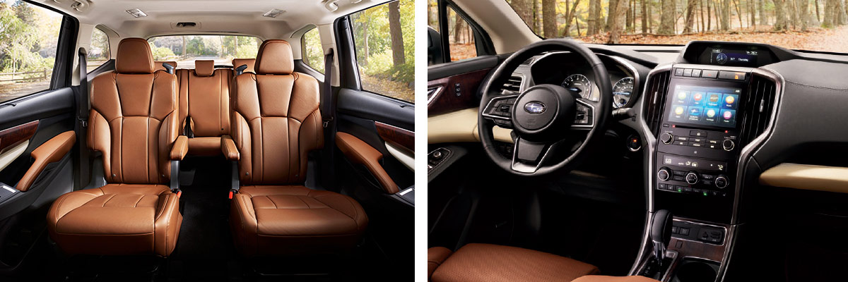Subaru Ascent Interior Features & Technology