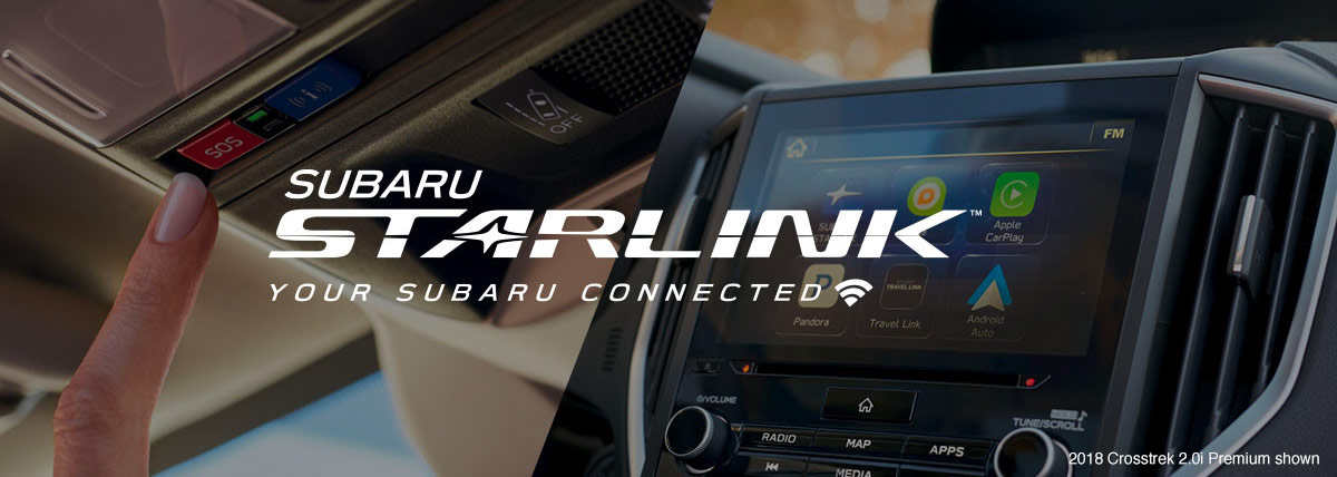 What is SUBARU STARLINK™? header