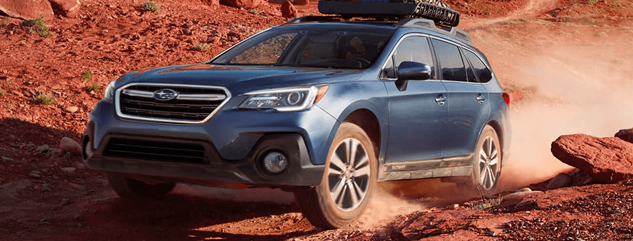 2018 Subaru Outback in blue