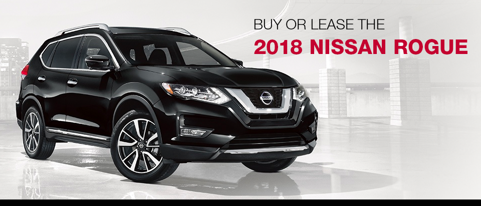 The 2018 Nissan Rogue at Mastria Nissan