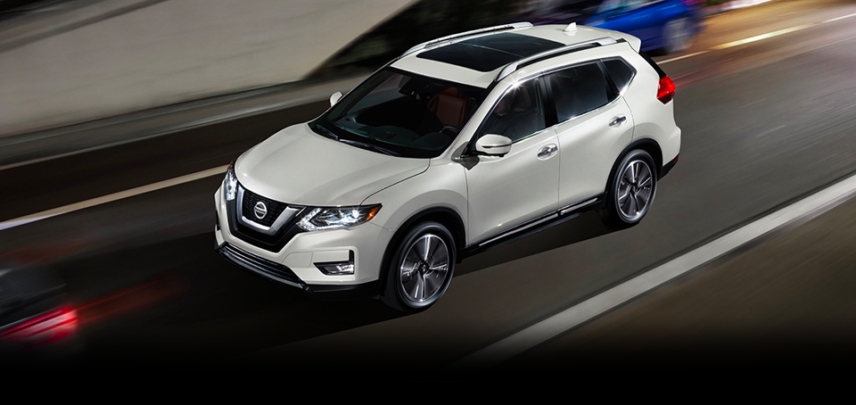 The 2018 Nissan Rogue at Mastria Nissan Performance