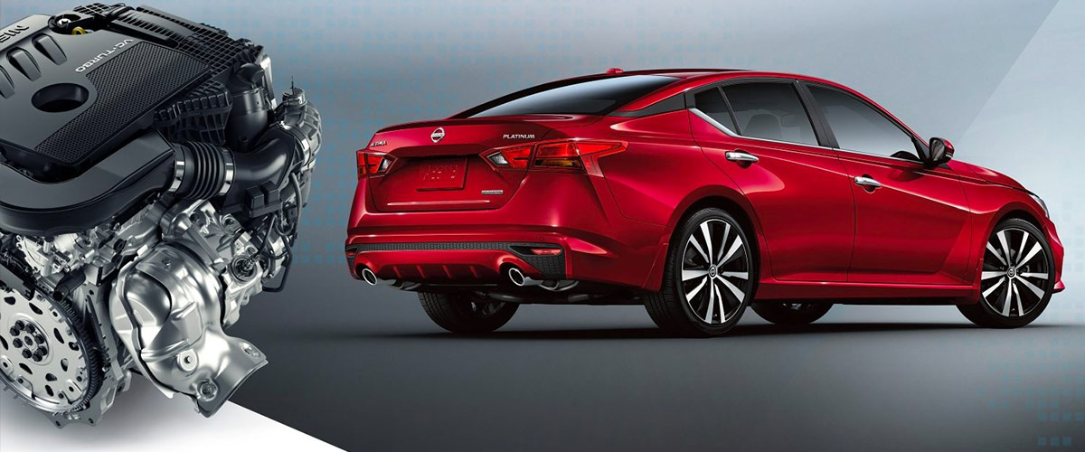 2019 Nissan Altima Fuel Economy & Engine Specs