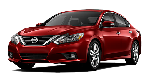 Red 2017 Nissan Altima