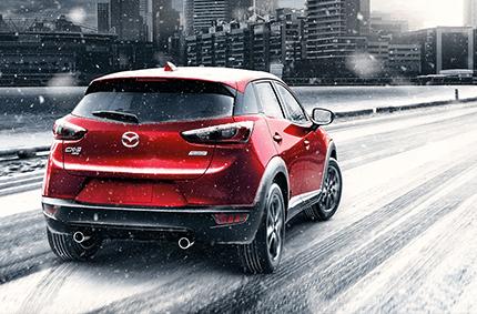 2018 Mazda CX-3 Performance in Snow