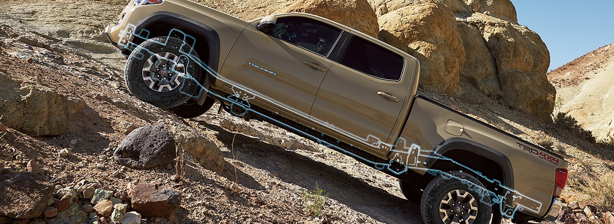 2018 Toyota Tacoma high strength steel