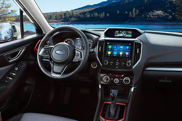 2019 Subaru Forester Interior Features & Technology