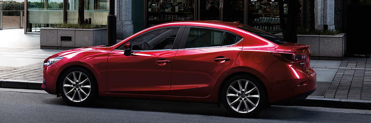 Mazda3 on the street