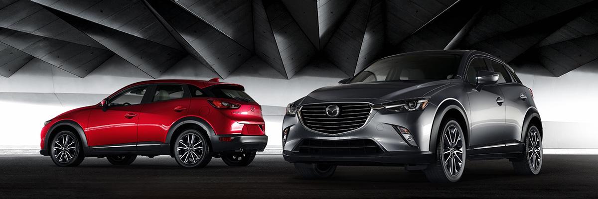 Mazda CX 3 Lineup