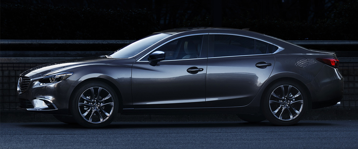 2018 Mazda6 side view