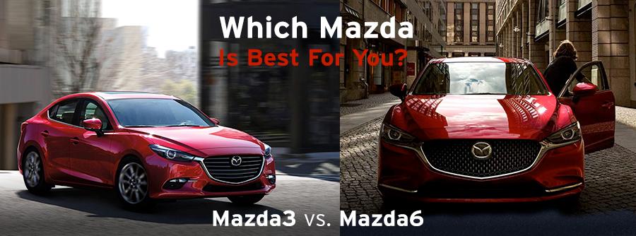 Mazda3 Vs Mazda6