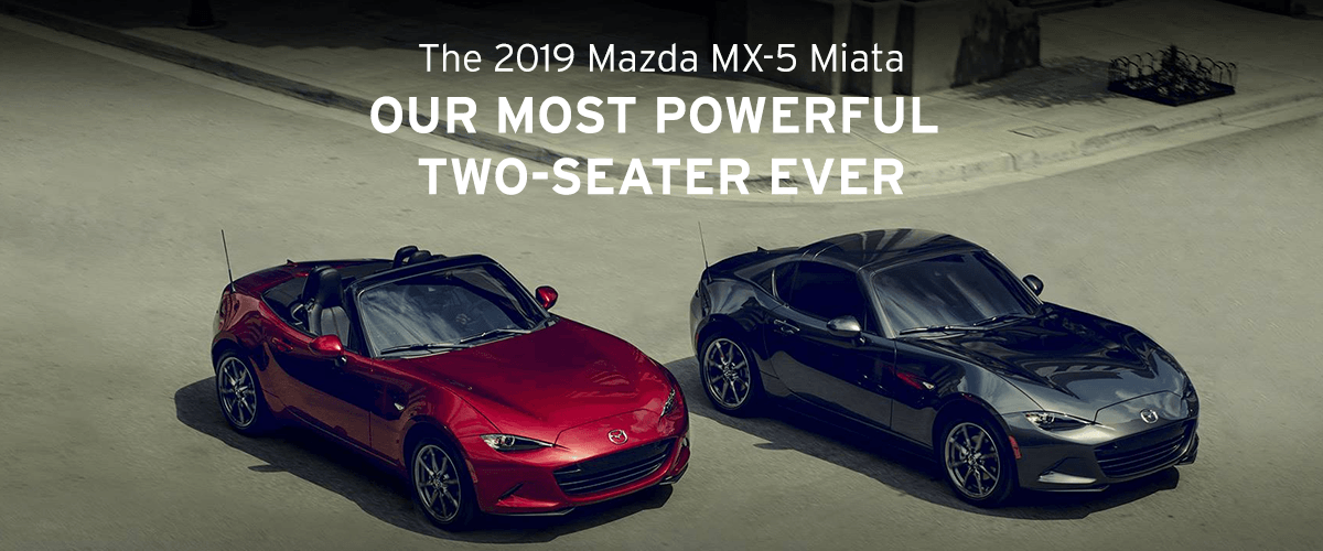 The 2019 Mazda MX-5 Miata