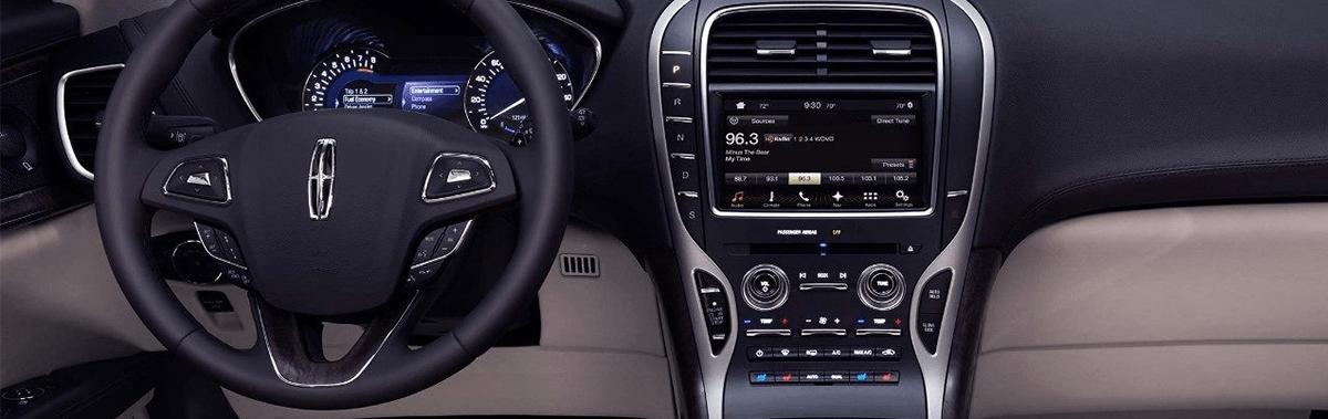 2018 Lincoln MKX interior