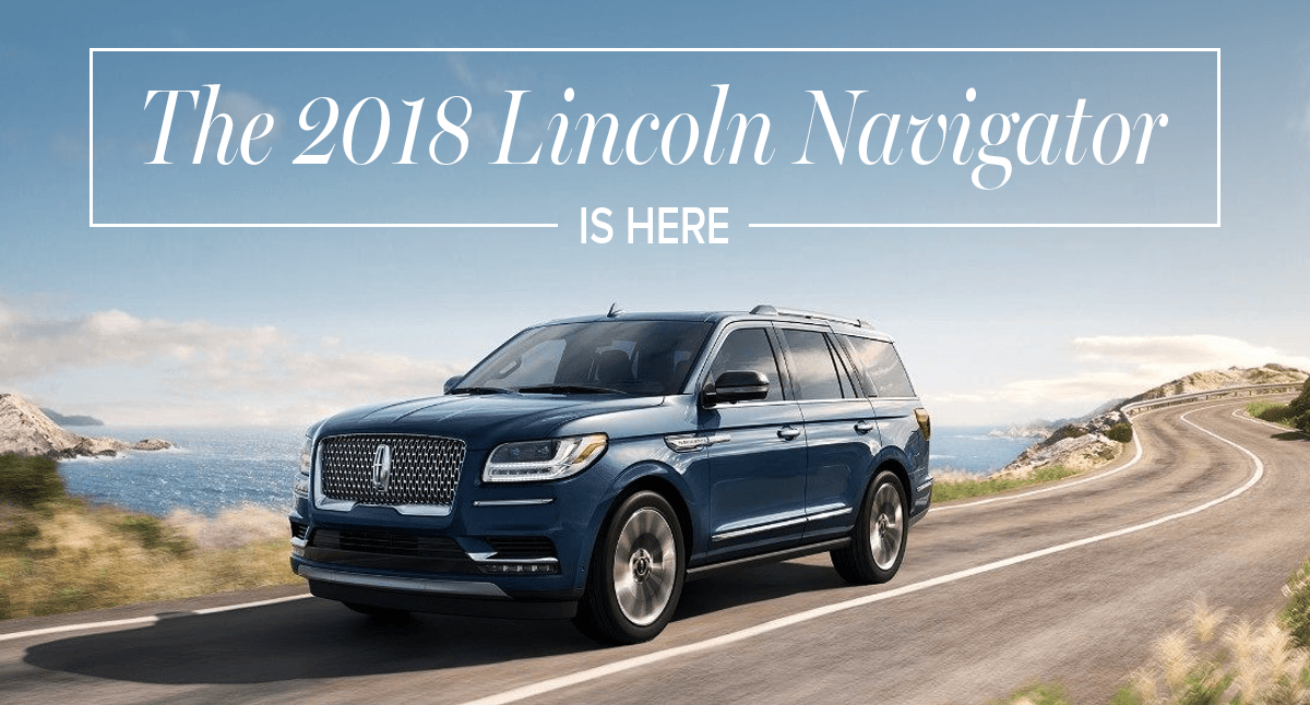 2018 Lincoln Navigator Buy A New Lincoln In San Antonio Tx