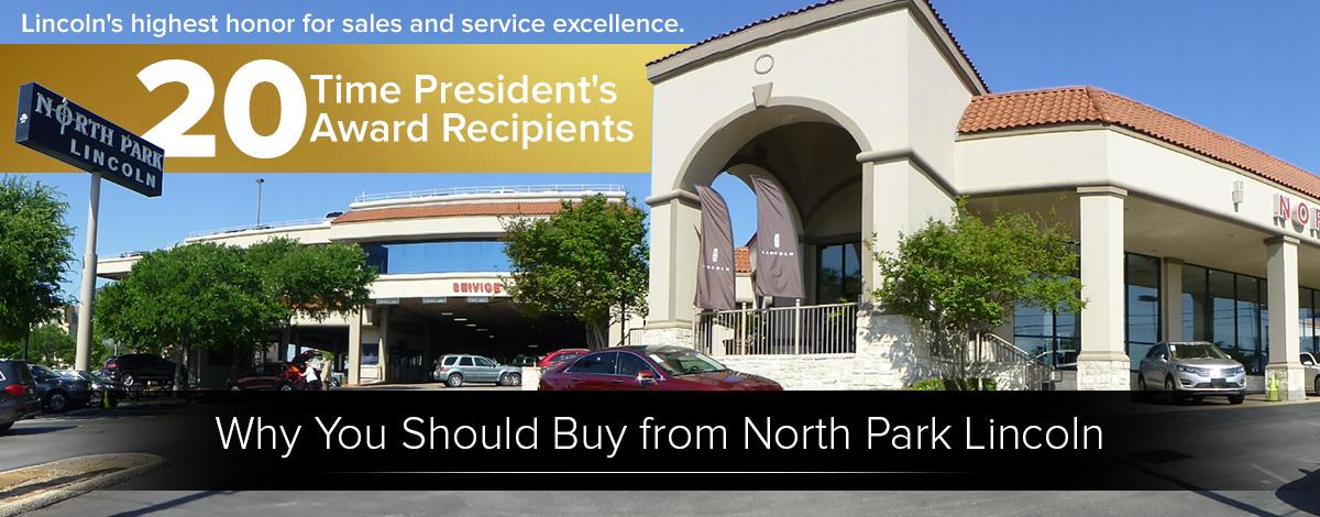 North Park Lincoln New Lincoln Dealership In San Antonio Tx 78216