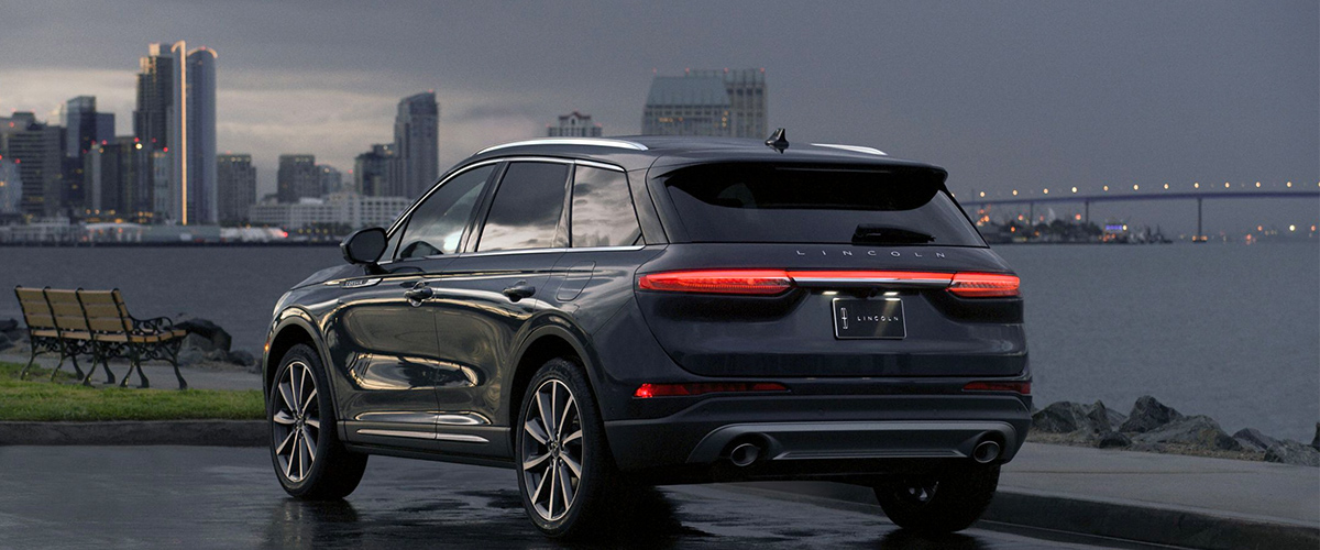 2020 Lincoln Corsair footer