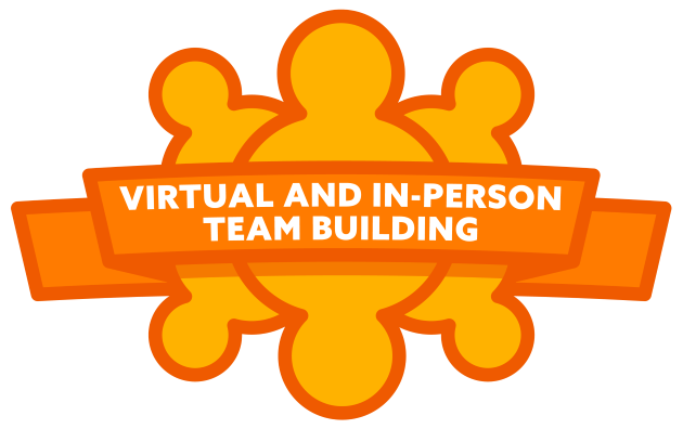 Virutal and In-Person Team Building icon