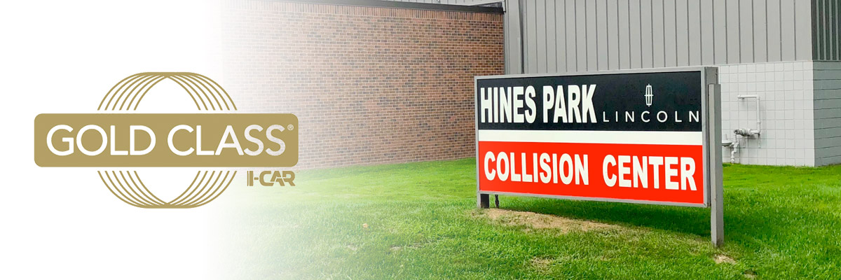 Hines Park Lincoln Collision Center Header
