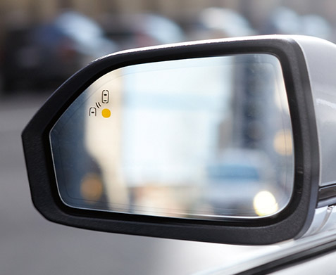 Lincoln MKZ blind spot detection