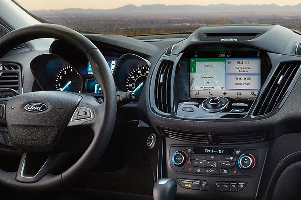 2018 Ford Escape Upscale Interior & Connected Technology