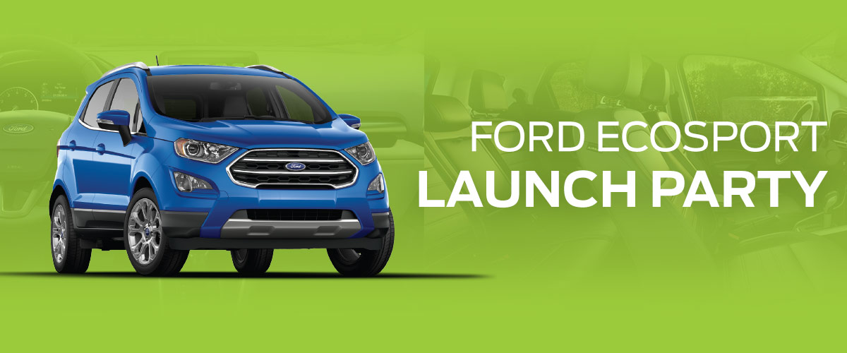 Ecosport Launch Party Event header