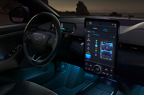 2021 Ford Mustang Mach-E touchscreen