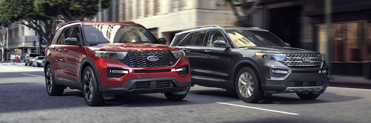 2021 Ford Explorer lineup