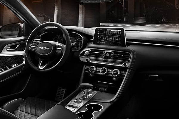 2019 Genesis G70 Interior Features & Technology