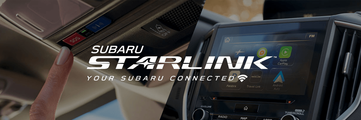 Subaru Starlink header