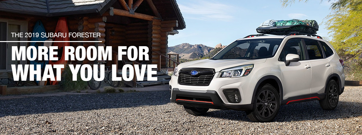 2019 Subaru Forester Lease A Subaru Forester Near Pueblo Co
