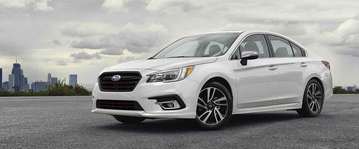 The 2019 Subaru Legacy header