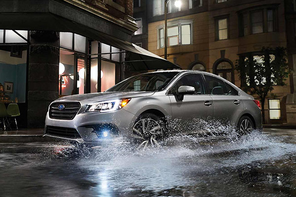 The 2019 Subaru Legacy safety