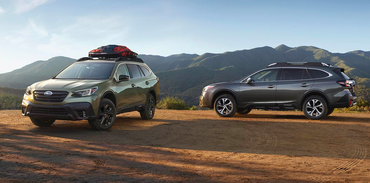 2020 Subaru Outback Footer