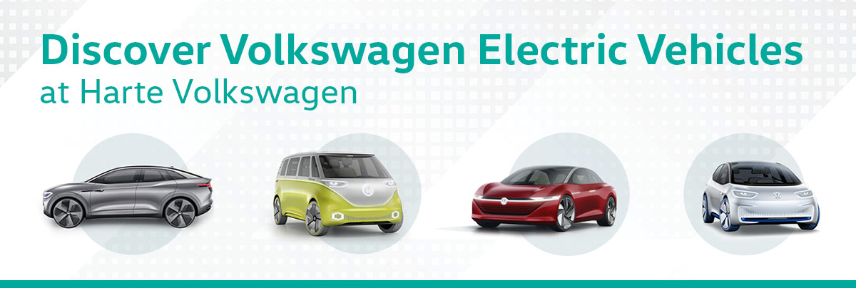 Discover Volkswagen Electric Vehicles at Harte Volkswagen header