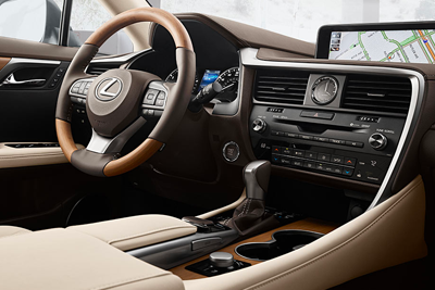 2018 lexus RX 350 interior and technology