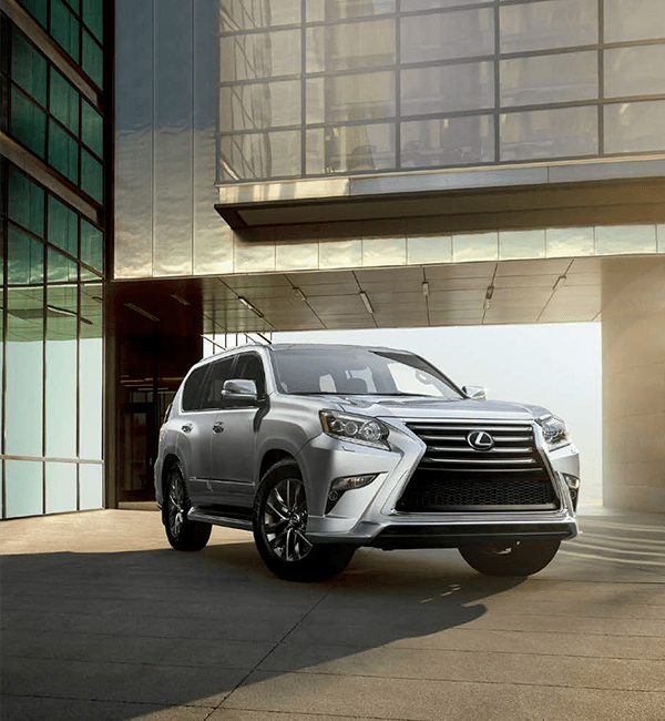 2019 Lexus GX parked in front of building