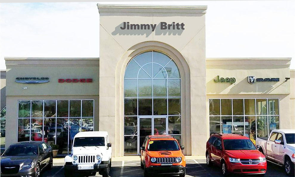 Jimmy Britt Chevrolet >> Why Buy From Jimmy Britt Chrysler Dodge Jeep Ram In Dublin Ga