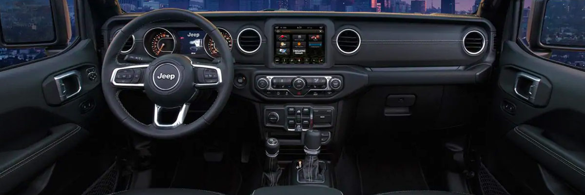 2020 Jeep Gladiator Interior & Technology Features